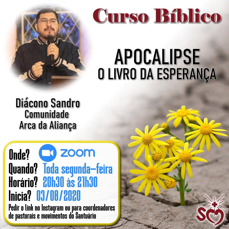 Curso bíblico a partir de agosto