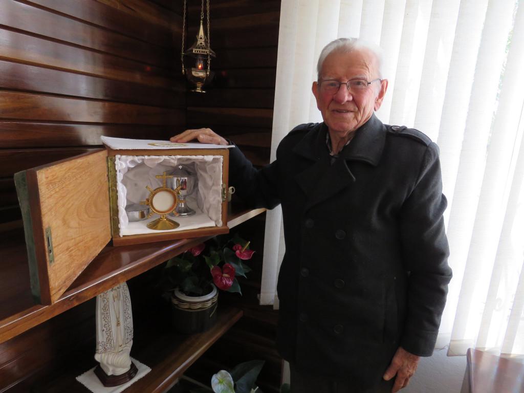 Padre Flávio Morelli celebra 88 anos de vida e 60 de sacerdócio